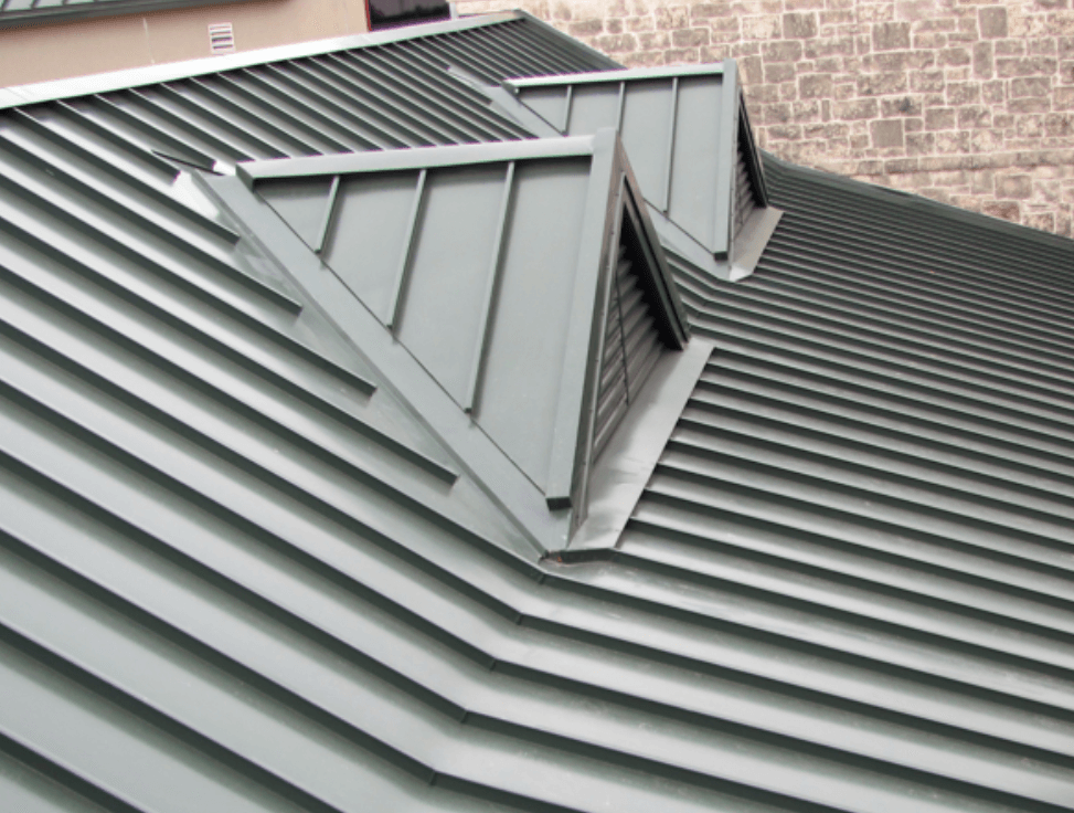 Sanding Seam Metal Roof Panels Residential Metal Roofing Systems